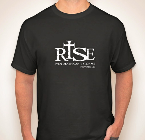 RISE Tshirts (Front) - customink.com